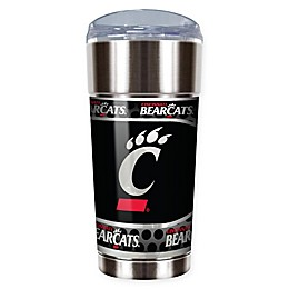 NCAA University of Cincinnati 24 oz. Vacuum Insulated Stainless Steel EAGLE Party Cup