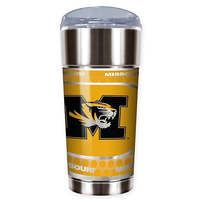 Alternate image 1 for University of Missouri 24 oz. Vacuum Insulated Stainless Steel EAGLE Party Cup