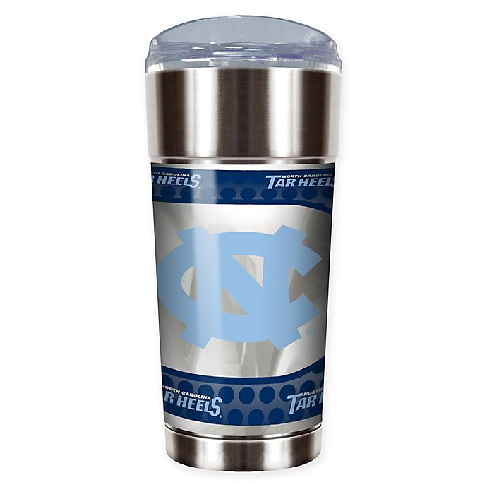 Alternate image 1 for University of North Carolina 24 oz. Vacuum Insulated Stainless Steel EAGLE Party Cup