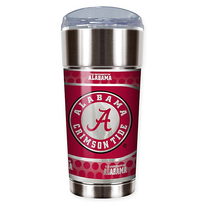 Alternate image 1 for University of Alabama Crimson Tide 24 oz. Vacuum Insulated Stainless Steel EAGLE Party Cup