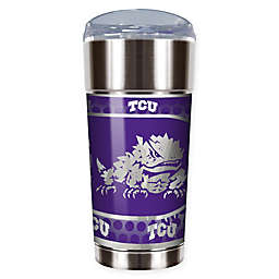 Texas Christian University Horned Frogs 24 oz. Vacuum Insulated Stainless Steel EAGLE Party Cup