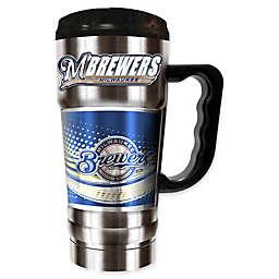 MLB Milwaukee Brewers 20 oz. Vacuum Insulated Travel Mug