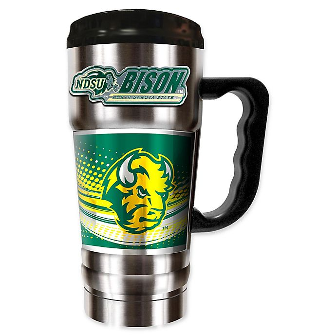 Alternate image 1 for North Dakota State University 20 oz. Vacuum Insulated Travel Mug