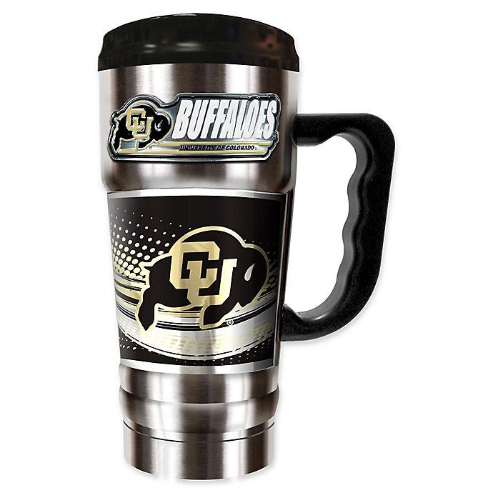University of Colorado -16 oz. Travel Mug Tumbler with ...  Colorado Travel Mug