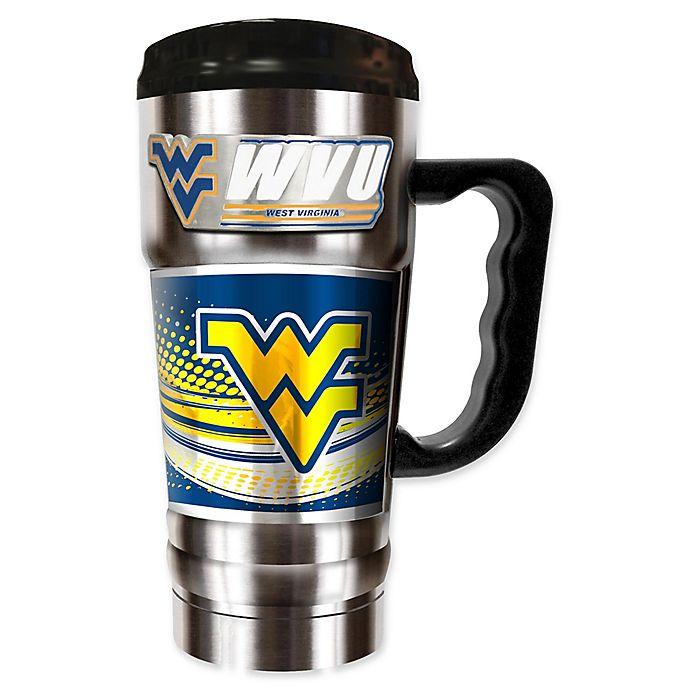 Alternate image 1 for West Virginia University 20 oz. Vacuum Insulated Travel Mug