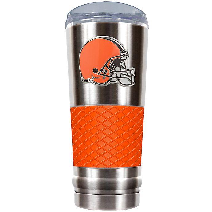 Alternate image 1 for NFL Cleveland Browns 24 oz. Draft Tumbler