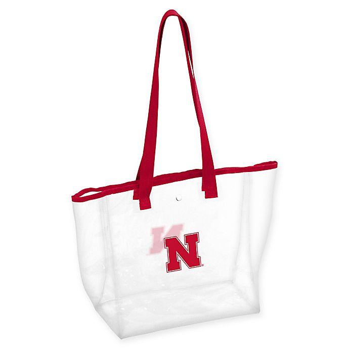 Alternate image 1 for University of Nebraska Stadium Clear Tote