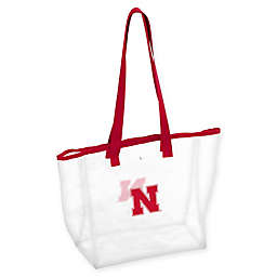 University of Nebraska Stadium Clear Tote