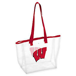 University of Wisconsin Stadium Clear Tote