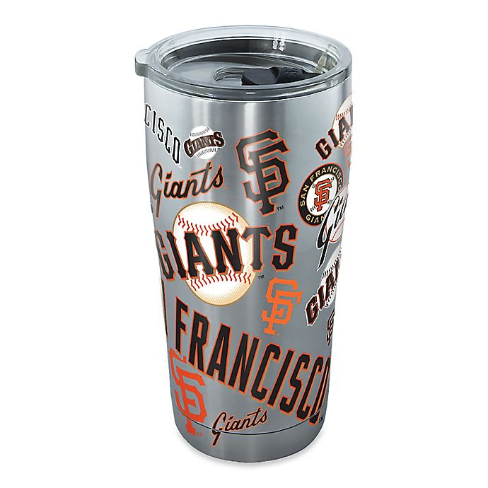 Alternate image 1 for Tervis® MLB San Francisco Giants All Over 20 oz. Stainless Steel Tumbler with Lid