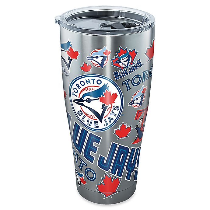 Alternate image 1 for Tervis® MLB Toronto Blue Jays All Over Stainless Steel Tumbler with Lid