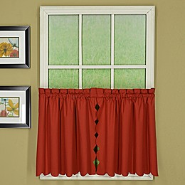 Today's Curtain Orleans Scallop Window Curtain Tier Pair