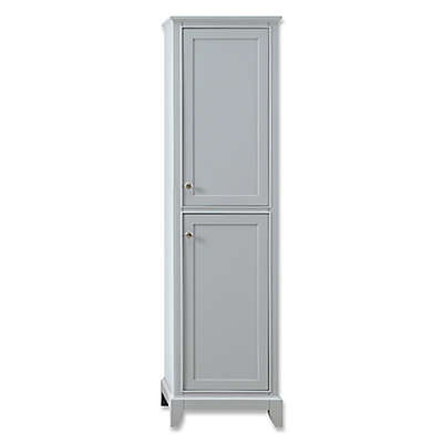 Azzuri Aurora 20-Inch Linen Tower in Light Grey