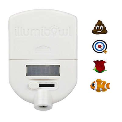 IllumiBowl™ Everyday Toilet Night Light™ Projector in White
