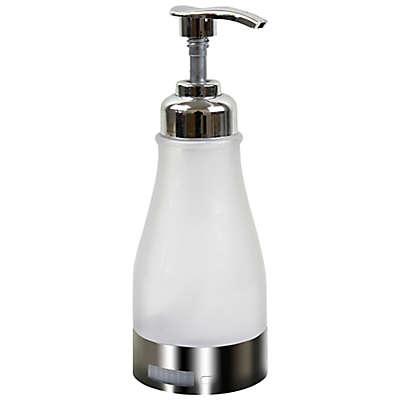 IllumiSoap™ LED Soap Dispenser in Silver