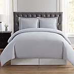 Truly Soft Everyday Full/Queen Duvet Cover Set in Silver Grey