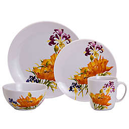 Euro Ceramica Tiger Lily Dinnerware Collection