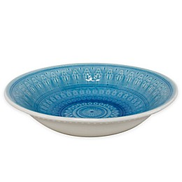 Euro Ceramica Fez Serving Bowl in Turquoise