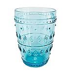 Euro Ceramica Fez Highball Glasses in Turquoise (Set of 4)
