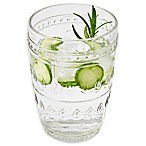 Euro Ceramica Fez Clear High Ball Glasses (Set of 4)