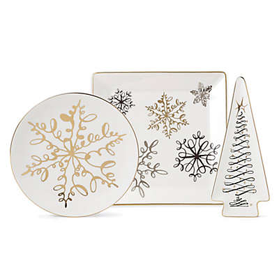 kate spade new york Jingle All the Way Serveware Collection