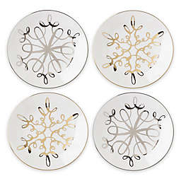 kate spade new york Jingle All the Way Tidbit Plates (Set of 4)