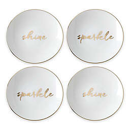 kate spade new york Oh What Fun Tidbit Plates (Set of 4)