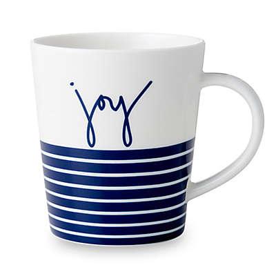 "ED Ellen DeGeneres Crafted by Royal Doulton® ""Joy"" Blue Stripe Mug"