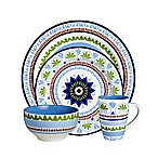 Euro Ceramica Marrakesh 16-Piece Dinnerware Set