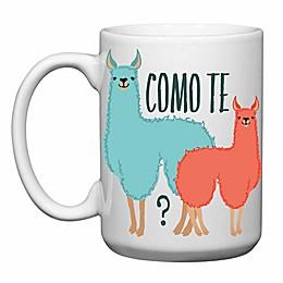 "Love You a Latte Shop ""Como Te Llamas"" Mug"