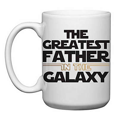"Love You a Latte Shop ""The Greatest Father in The Galaxy"" Mug"