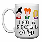 Love You a Latte Shop  I Put a Spell on You  Mug in White