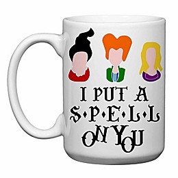 "Love You a Latte Shop ""I Put a Spell on You"" Mug in White"