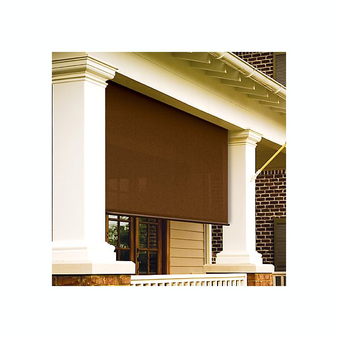 Alternate image 1 for Select Exterior 6-Foot Shade in Mocha