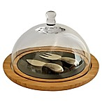 Picnic at Ascot Provence Cheese Board with Glass Dome