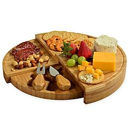 Picnic at Ascot 3-Piece Florence Bamboo Cheese Set
