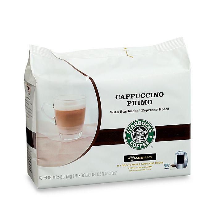 Starbucks Coffee® Cappuccino Primo T-Discs for Tassimo™ Hot