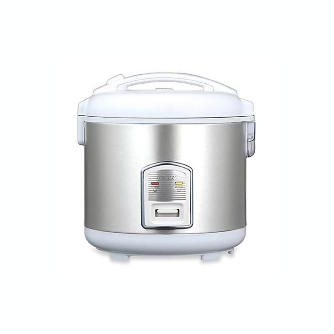 Alternate image 1 for Oyama 7-Cup Healthy Rice Cooker and Steamer