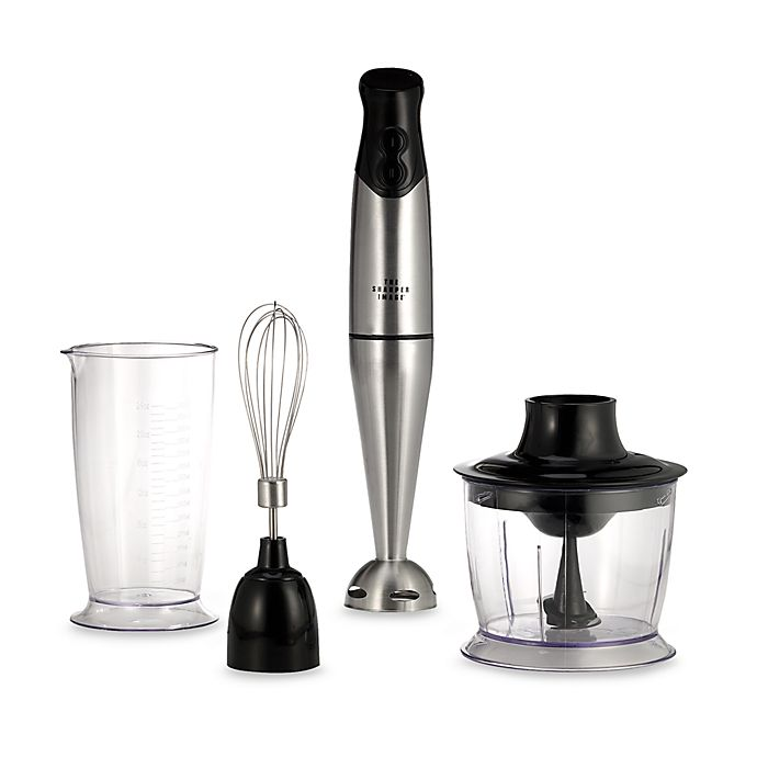 The Sharper Image Stainless Steel Stick Blender Bed Bath Beyond