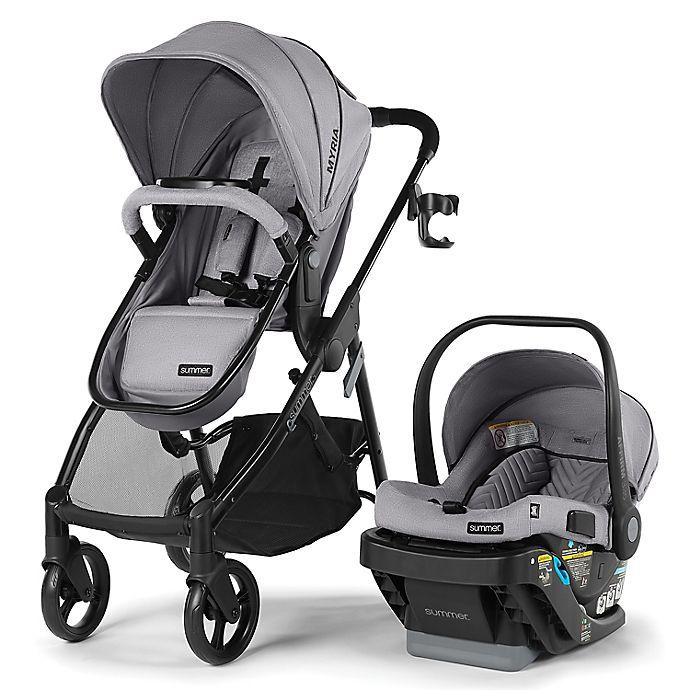 Alternate image 1 for Summer Infant® Myria Travel System in Stone Grey