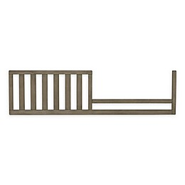 ED Ellen DeGeneres Forest Animal Toddler Guard Rail in Natural Grey