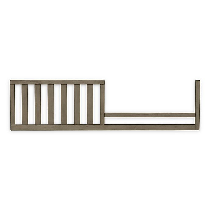 Alternate image 1 for ED Ellen DeGeneres Forest Animal Toddler Guard Rail in Natural Grey