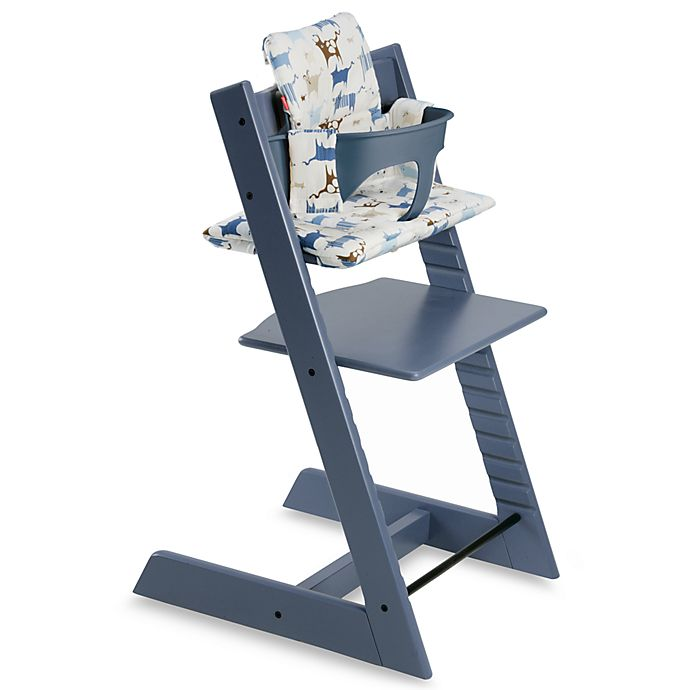 Stokke® Tripp Trapp® Blue High Chair Cushion | Bed Bath & Beyond