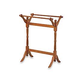 18th Century Reproduction Blanket Rack - Oak