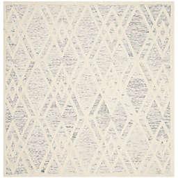 Safavieh Cambridge 6-Foot x 6-Foot Ruby Wool Rug in Grey/Ivory