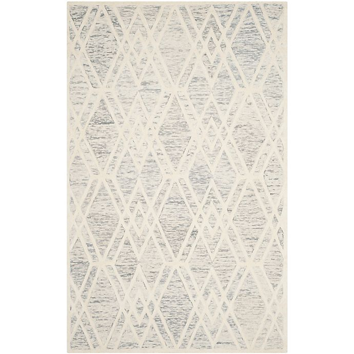 Alternate image 1 for Safavieh Cambridge 8-Foot x 10-Foot Ruby Wool Rug in Grey/Ivory