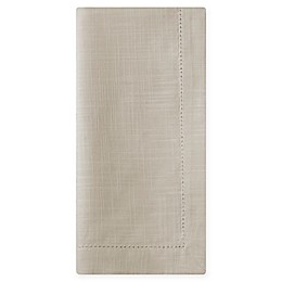 Wamsutta® Bordered Cotton Napkins in Natural (Set of 2)