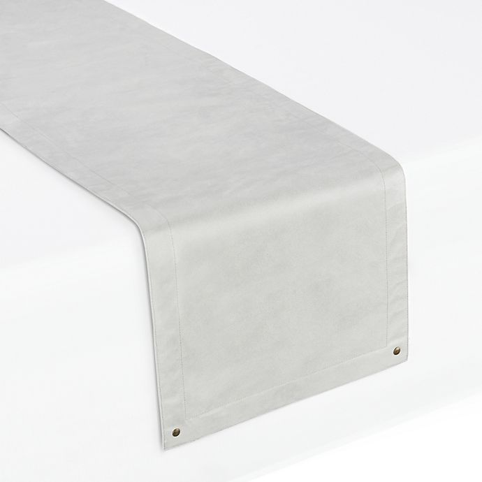 Alternate image 1 for UGG® Jackson Faux Suede Table Runner in Grey