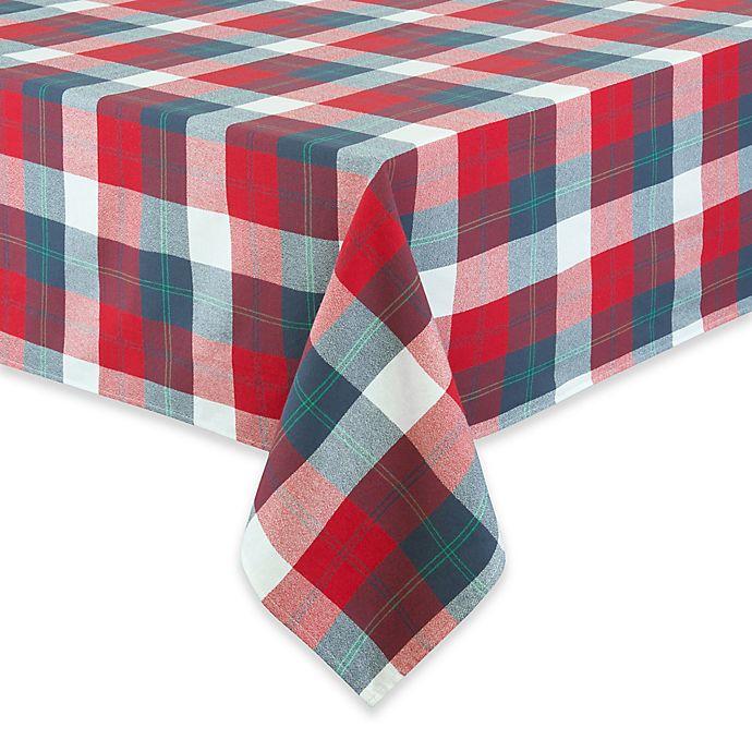 Alternate image 1 for UGG® Camper Plaid Tablecloth