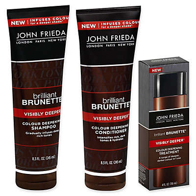 John Frieda Brilliant Brunette® Visibly Deeper Colour Deepening Collection